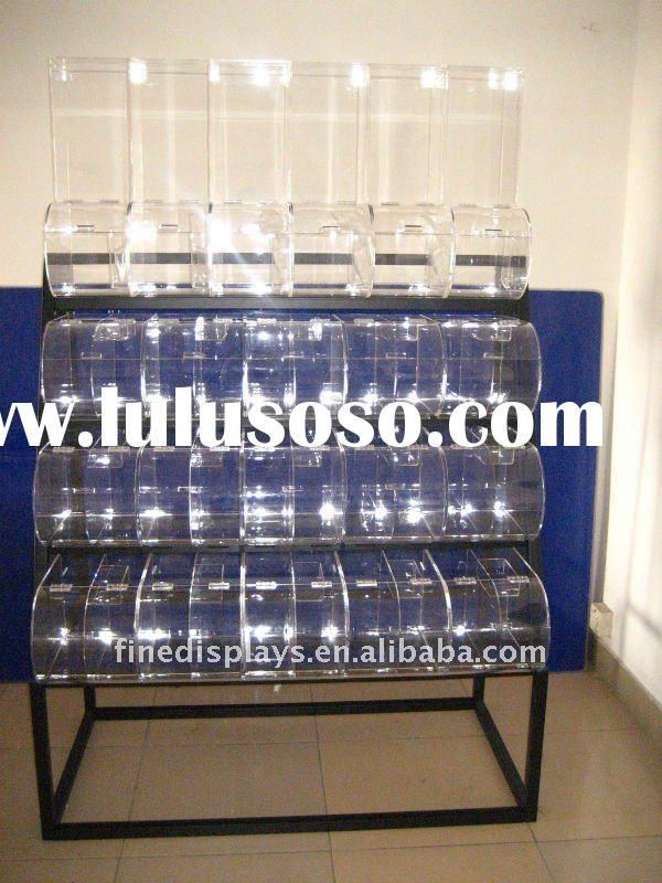 4-5Tier Acrylic Candy Display Dispenser Box Scoop (FD-C-152)