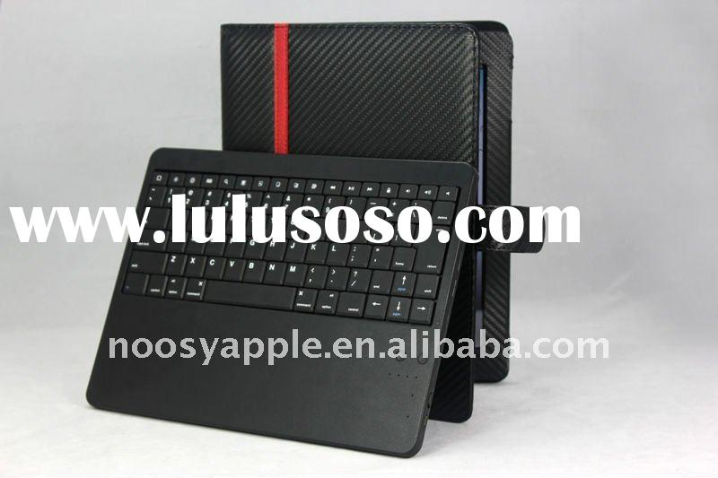5000mAh power bank with bluetooth wireless keyboard leather case for iPad 2/galaxy tab