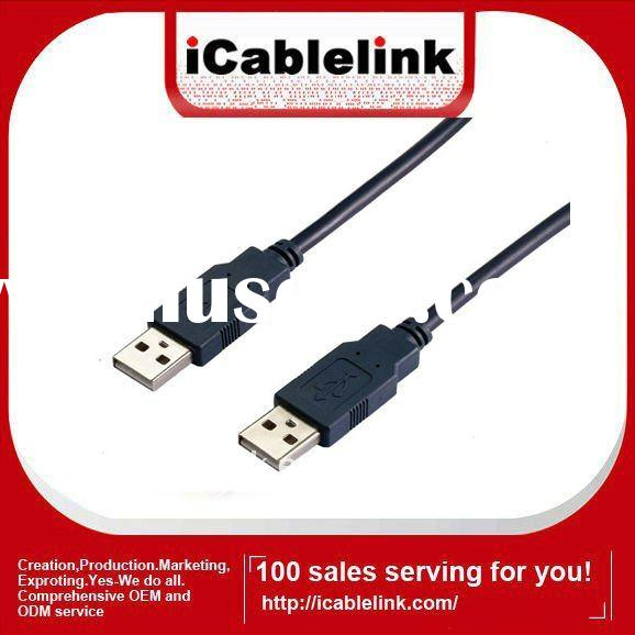 High speed usb cable male to male USB2.0 cable for charging&data transfering