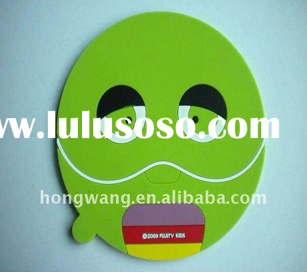 Interesting Face expression silicone mouse mat