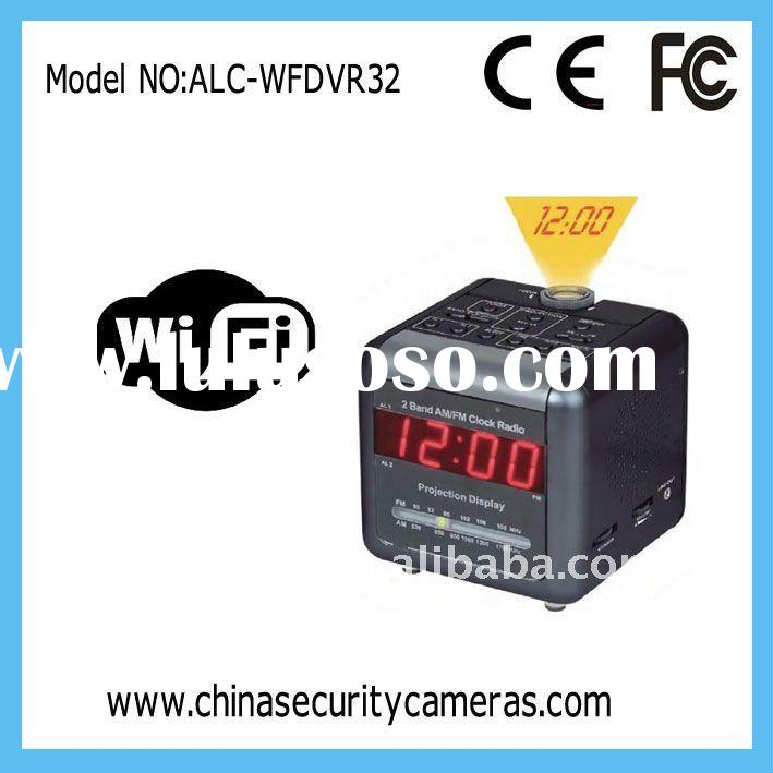 Mini  hidden camera with HD IR Radio clock