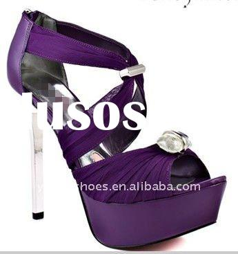 Noble temperament in 2012 ladies high heel shoes