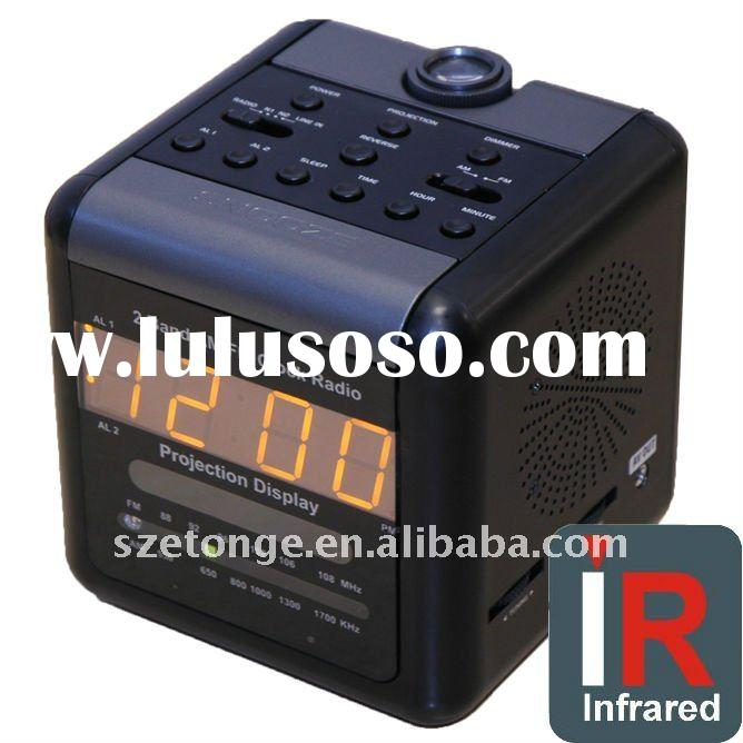 P2P Alarm Clock Network IP Camera