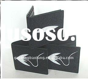 WHOLESALE 3 GENUINE STINGRAY SKIN LEATHER WALLETS