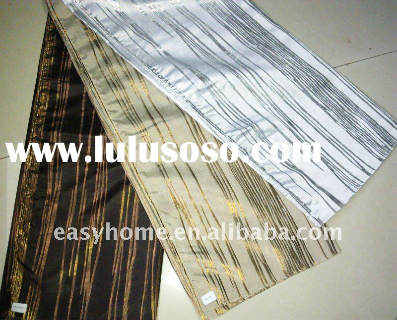 polyester yarn dyed jacquard curtain
