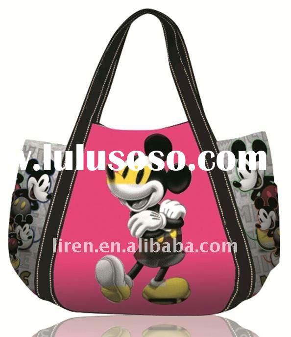 2012 New Design Fshion Cotton Canvas tote Bag
