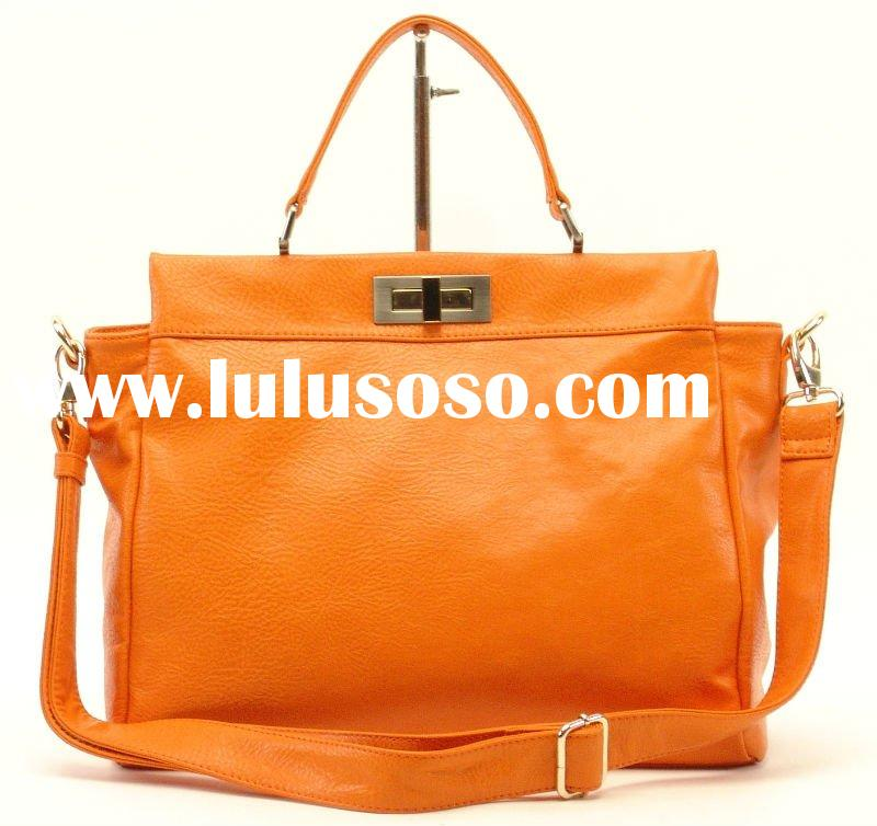 2012 shining PU lady handbag