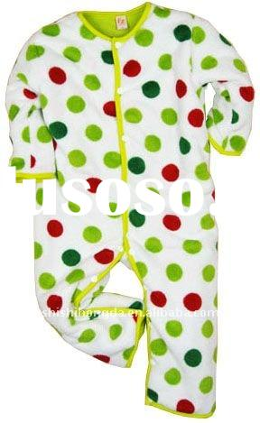 2012 unique round dot allover print baby clothing