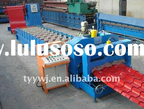 40-256-768 glazed tile roof panel roll forming machine