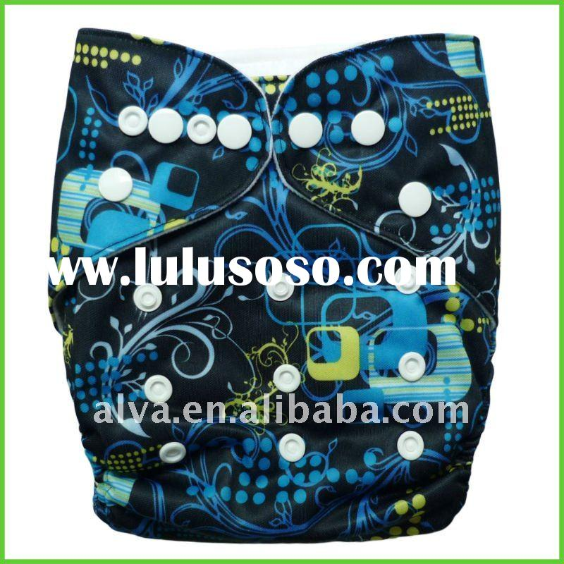 Cloth Nappy Cover for Baby Boy, Pocket Diaper All in One Size