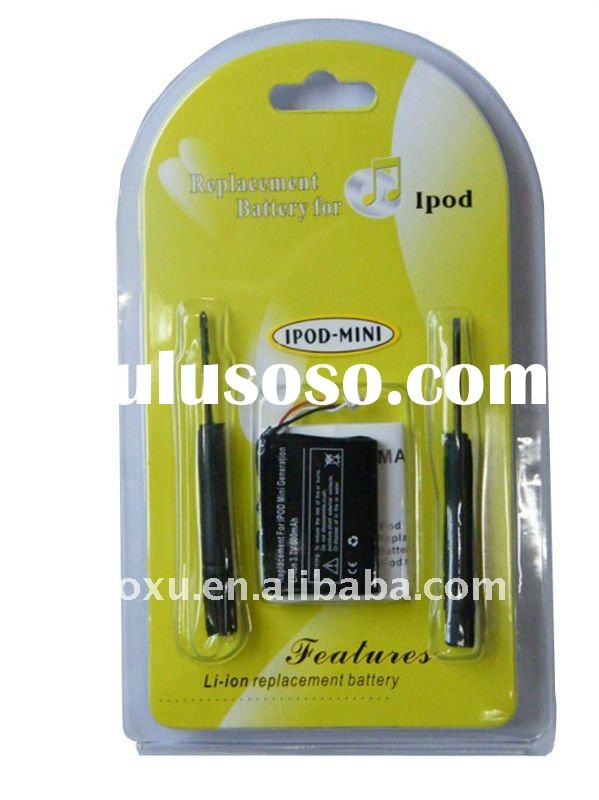 Li-ion Polymer Battery For iPod ,For iPod Mini Battery