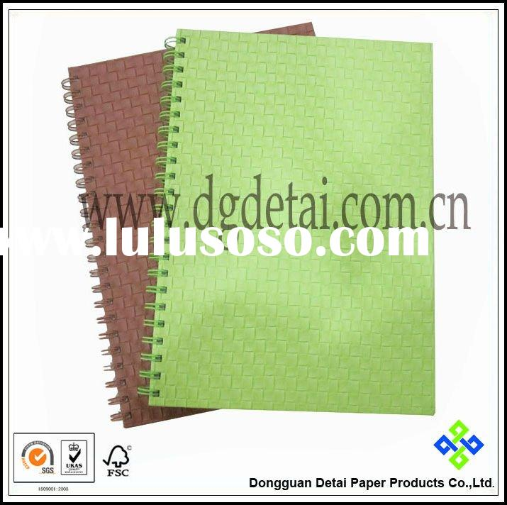 PU cover spiral Notebook