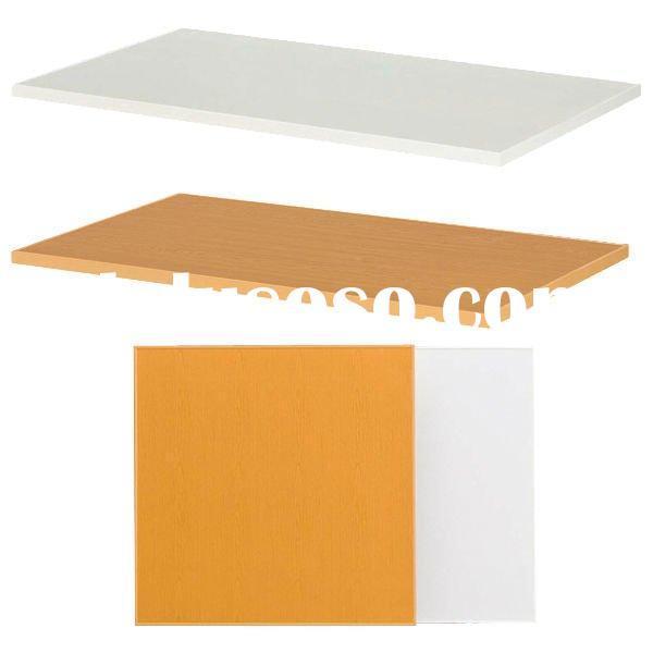 PVC Steel Plastic Office Table top