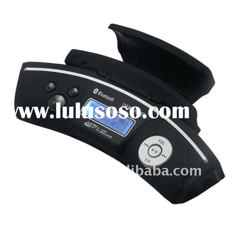 Steering wheel bluetooth car kit MP3 FM transmitter