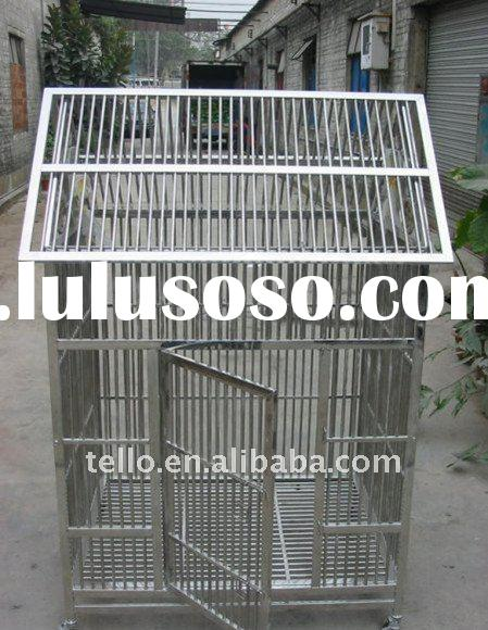 Tello High Quality Stainless Steel Dog Cage