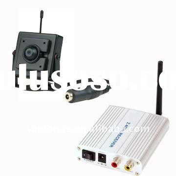 .4G Ultra-small Wireless CCD Security Camera Kit