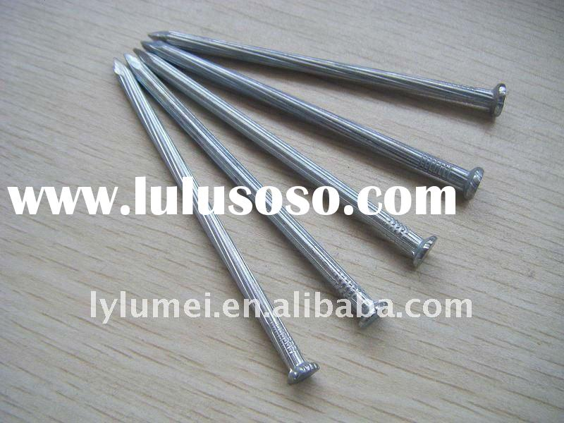 high quality round head cement nails and concrete nails