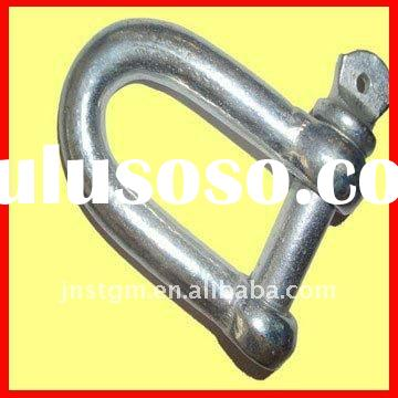 marine hardware European type large D shackle