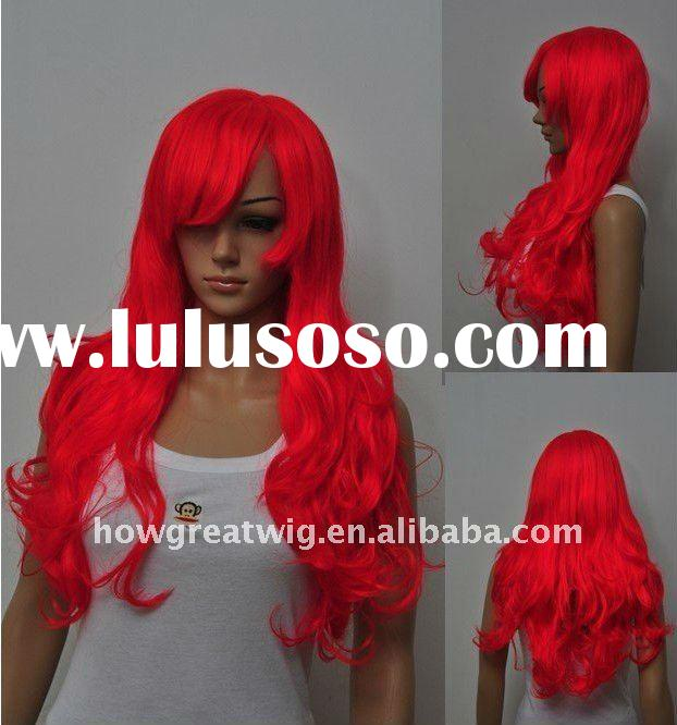 new fashion women cosplay synthetic wigs anime costume wigs