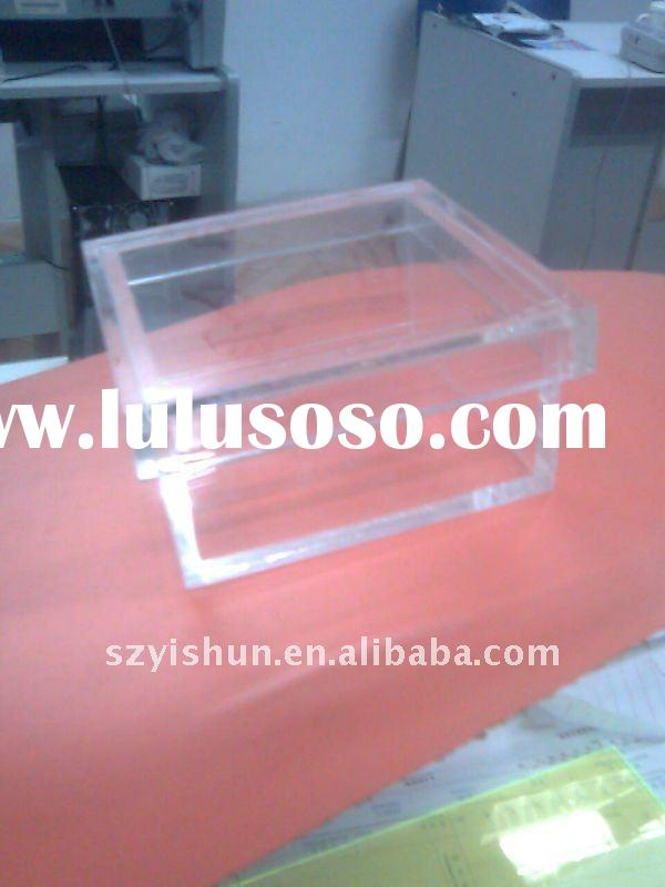 Acrylic promotional box
