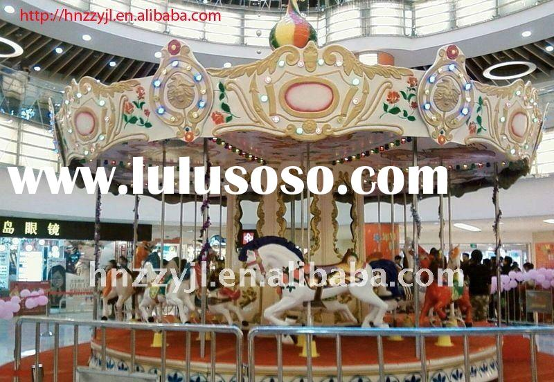 HOT!!! 2011 Newest&Top Quality Carousel Ride Amusement Equipment
