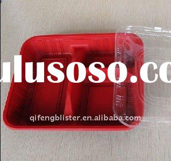 PP/PET lunch box,plastic lunch box,lunch box keep food hot