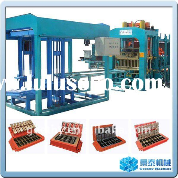 QT9-15 hydraulic fully automatic concrete brick machine