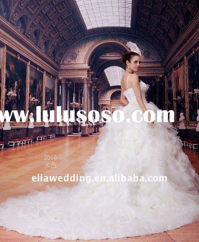 Professional manufacture wedding dress 2011 hot sell Elia Z010