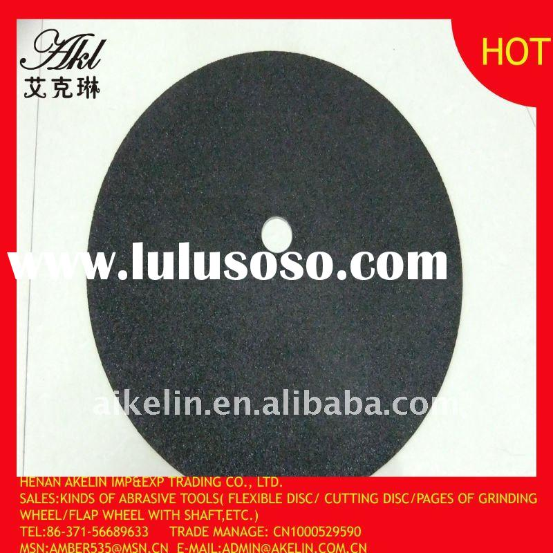 Reinforced resin cutting disc for cutting and grinding metal/stainless steel