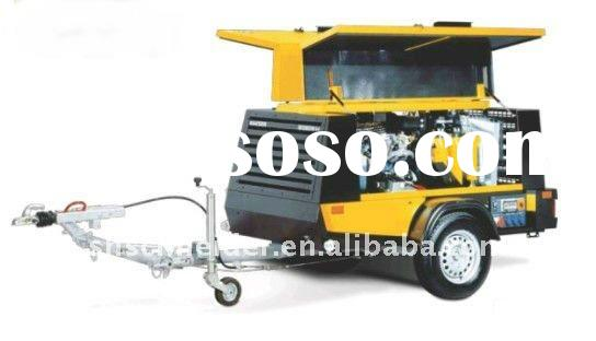 Diesel Engine Drilling Portable Air Compressor