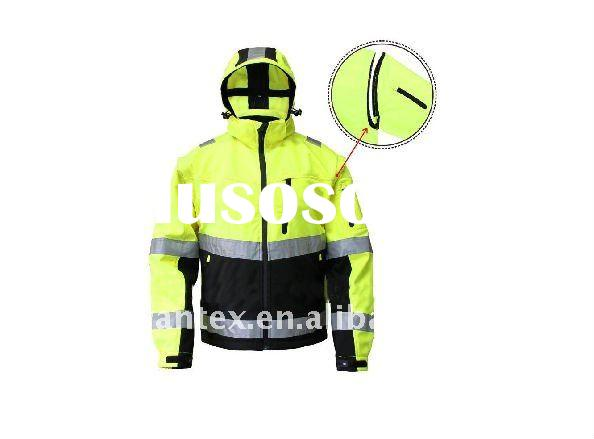 HIGH VISIBILITY REFLECTIVE SAFETY WINDPROOF JACKET