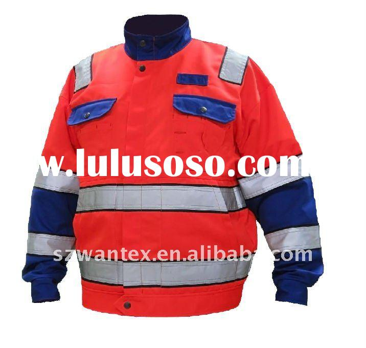 REFLECTIVE HIGH VISIBILITY SAFETY WINTER JACKET