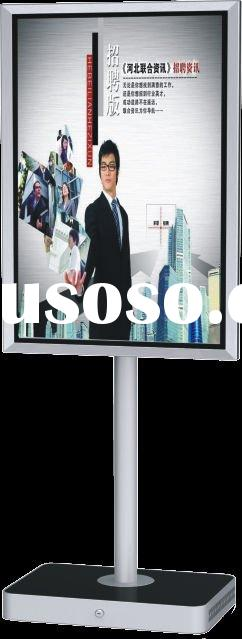 Multi-touch LCD advertising player
