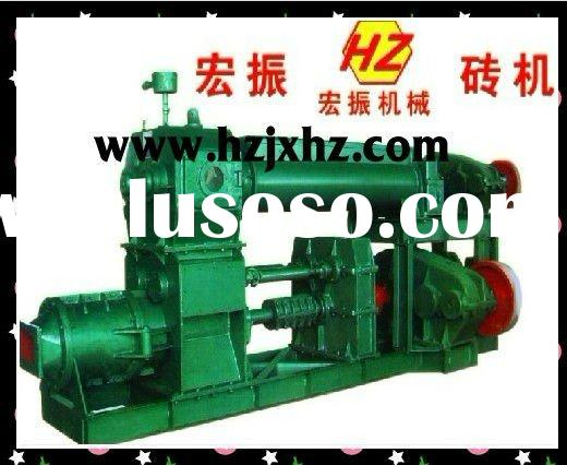 vacuum extruder for clay brick making