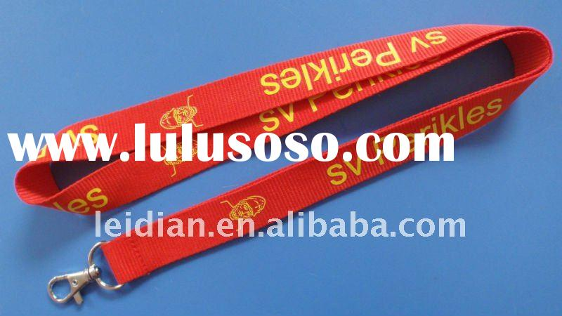 2011 New Arrival and Hot Sell Polyester Lanyard