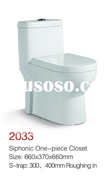 2012 lastest model MP2033 One piece toilet