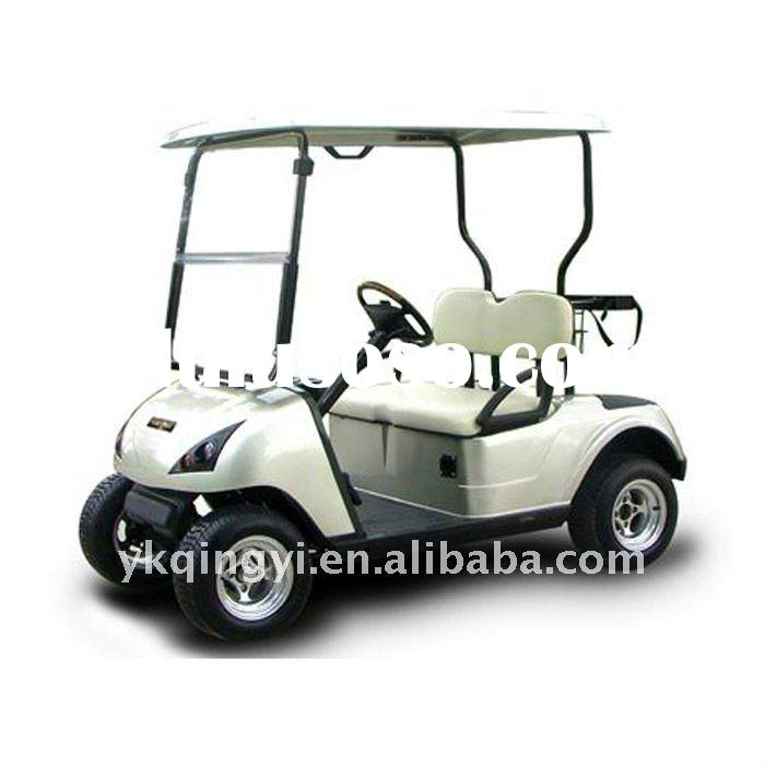 CE approved two seats pure electric golf cart
