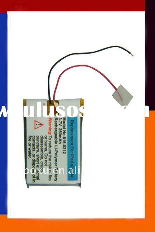 High Quality Battery For iPod,For iPod Shuffle Battery