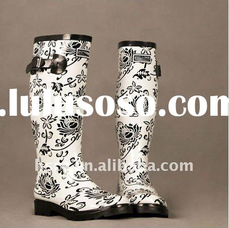 Hot sale Fashion Women Rain boots