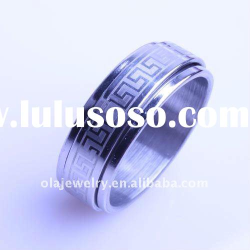 Hot selling fashion stainless steel rings