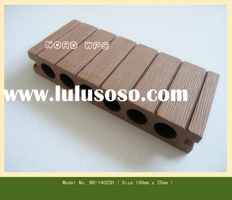 Outdoor Wood plastic composite decking --019
