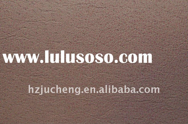 PU leather/ PU pig skin for shoe lining