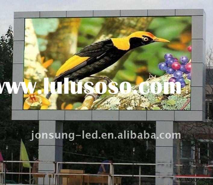 The newest full color outdoor led display for advertising