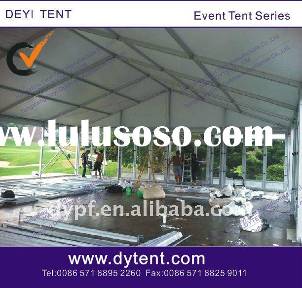 12x24m glass panel wall party tent
