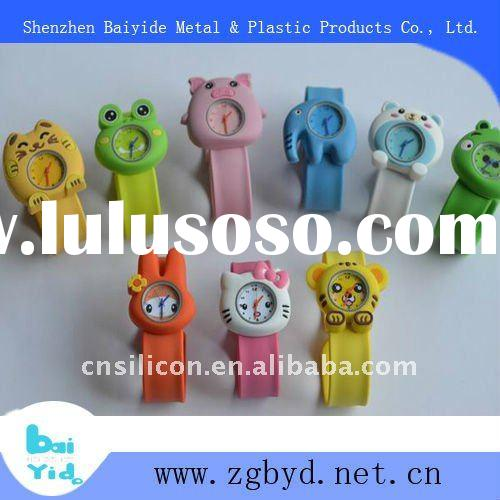 2011 New design waterproof silicone slap watch for kids