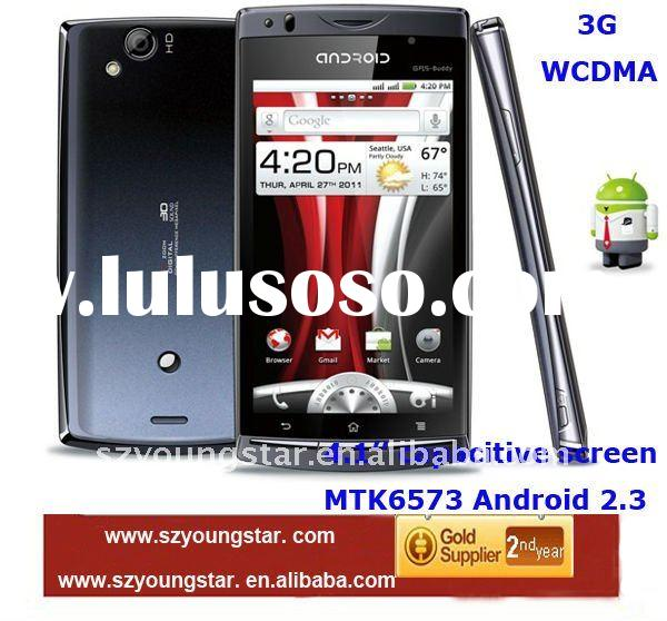 2012 new 4.1'' capacitive screen MTK6573 WCDMA 3G Android 2.3 GPS WIFI mobile phone