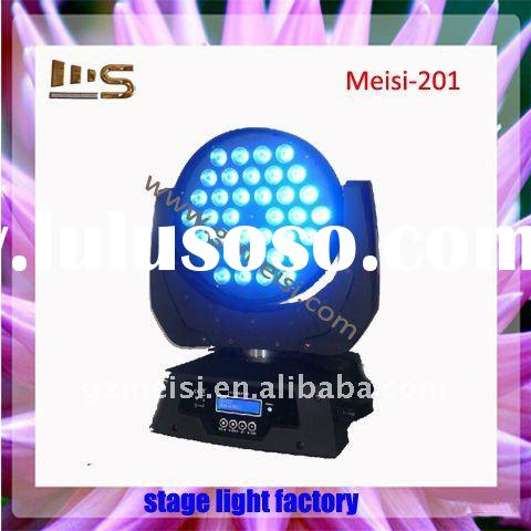 36*10w powerful LED moving head light