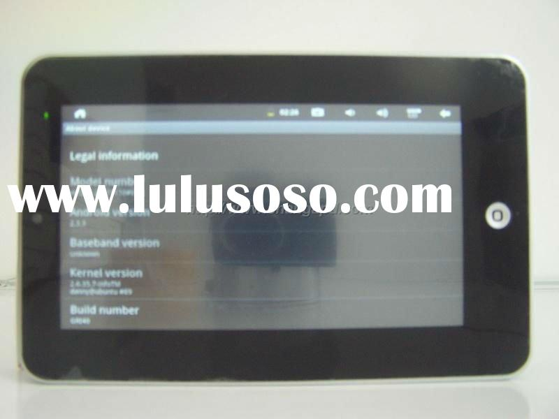 "7"" 4GB flash 10.3 800-1GHZ camera android 2.3 tablet pc"