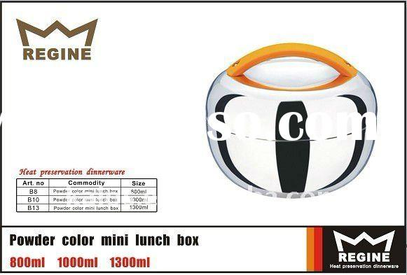 Apple shape mini keep-warm Stainless Steel lunch box and food box