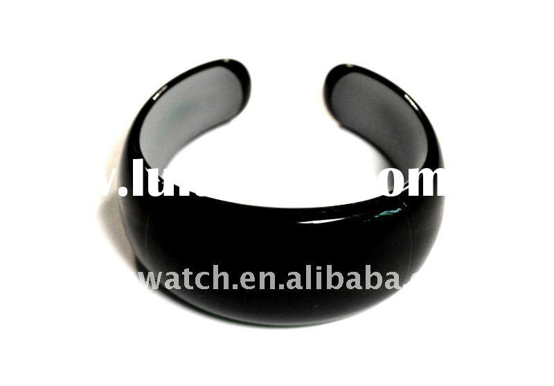 Bluetooth Bracelet,vibrating bluetooth bracelet,caller id-black